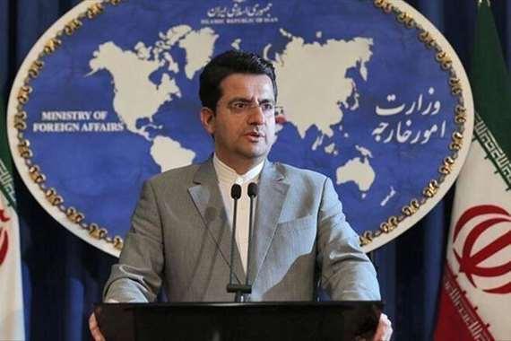 المتحدث باسم الخارحية الإيرانية