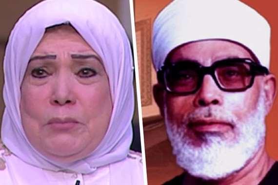 محمود خليل الحصري وابنته