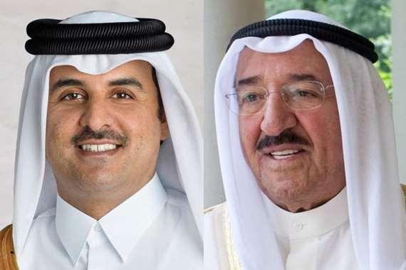 أميرا الكويت وقطر