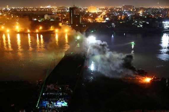 حريق بغداد