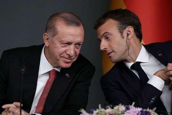 أردوغان وماكرون