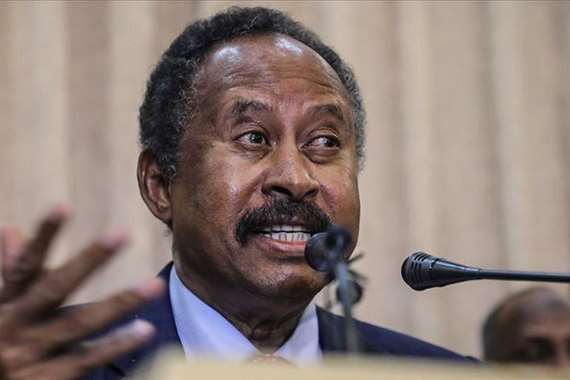عبد الله حمدوك رئيس الوزراء السوداني