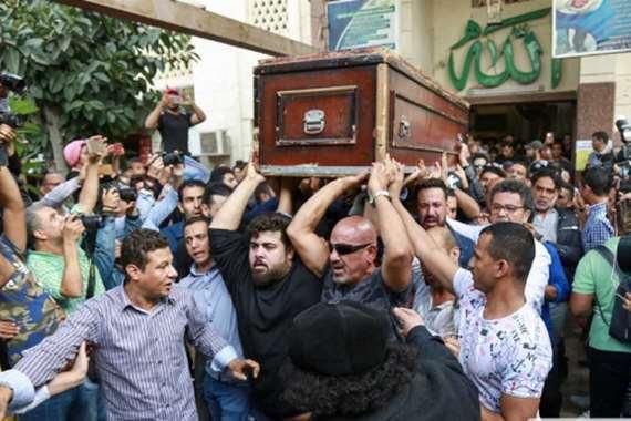 جنازة الفنان هيثم أحمد زكي