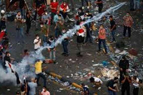 المتظاهرون في العراق