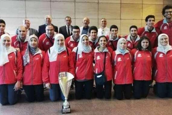 منتخب مصر في كرة السرعة