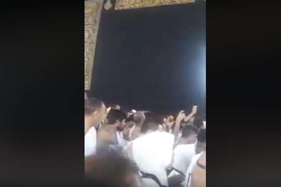 دعاء من الكعبة إلى هيثم أحمد زكي