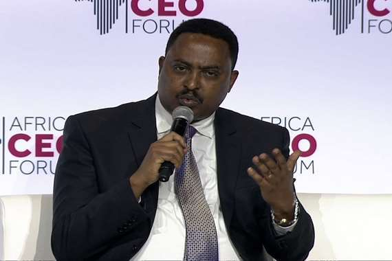 وزير الخارجية الإثيوبي ورقيني قبيو