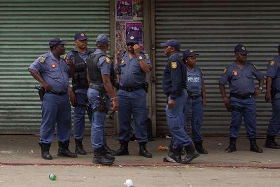 الشرطة فى نيجيريا ارشيفية