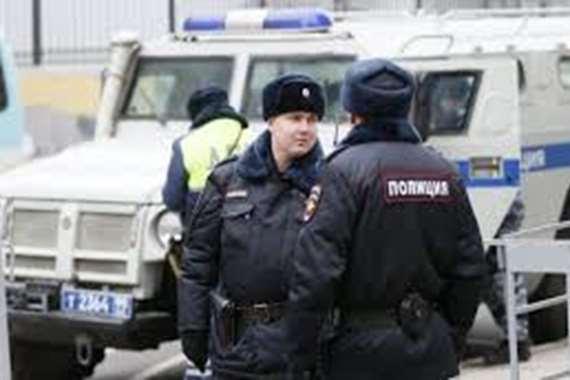 الشرطة الروسية ارشيفية