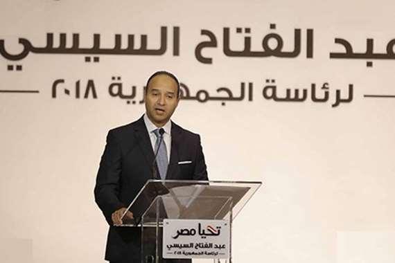 الدكتور محمد أبو شقة، المتحدث الرسمى باسم حملة الرئيس السيسى