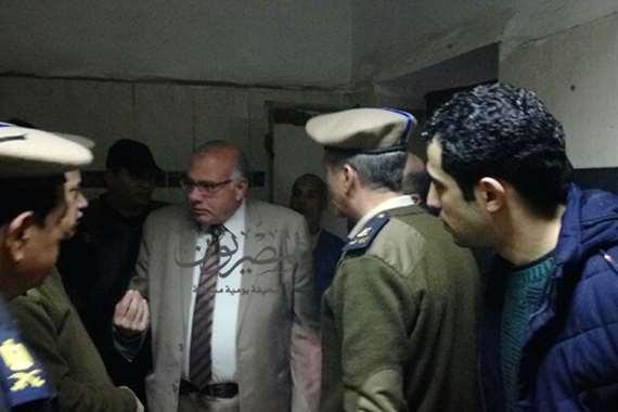 حادث مستشفى جامعة بنها