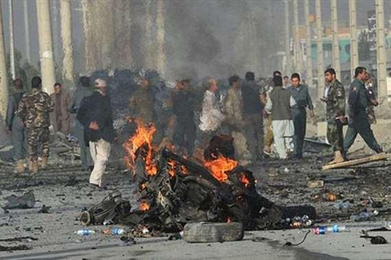تفجير انتحاري بأفغانستان