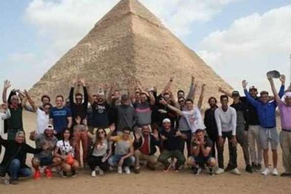 سياحة فى الاهرامات