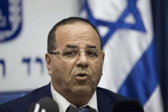"""وزير الاتصالات الإسرائيلي  السابق """" أيوب قرا"""""""