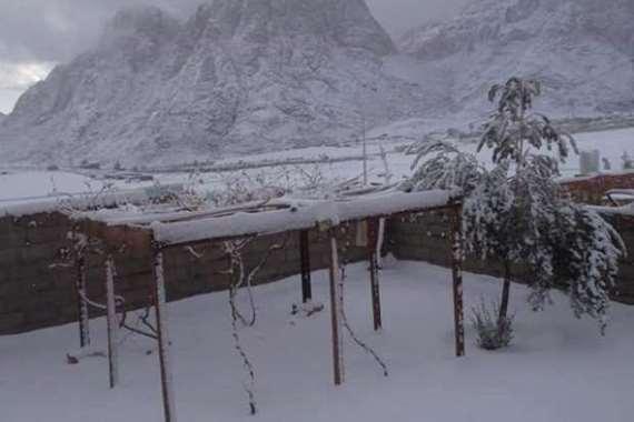 سانت كاترين تحاكي دول أوروبا المغطاة بالثلوج