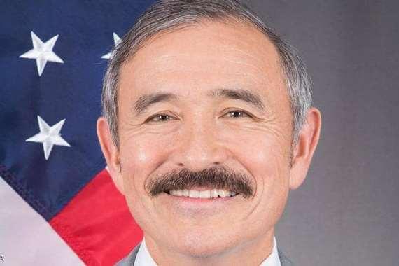 شارب هاري هاريس السفير الأمريكي لدي كوريا الجنوبية