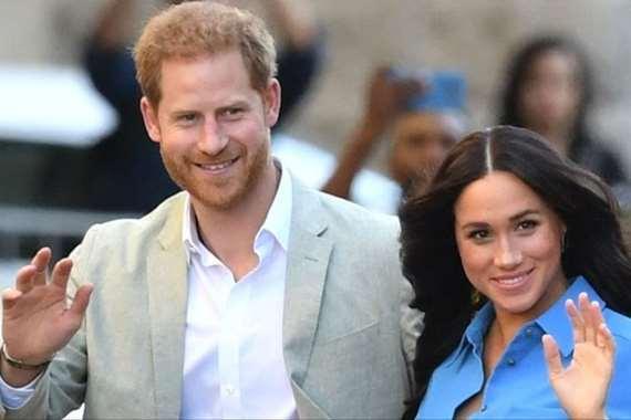 الأمير هاري وزوحته