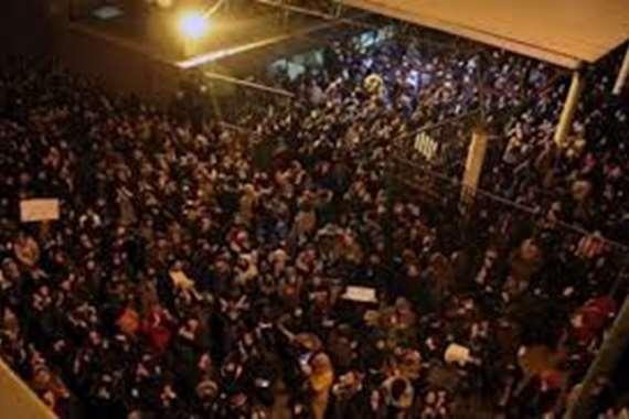 تظاهرات في طهران