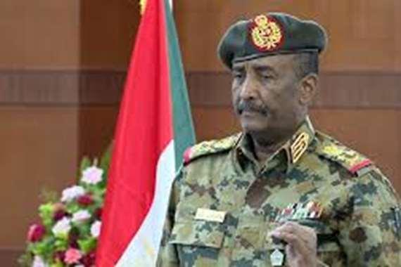 عبد الفتاح برهان رئيس مجلس السيادة الانتقالي في السودان