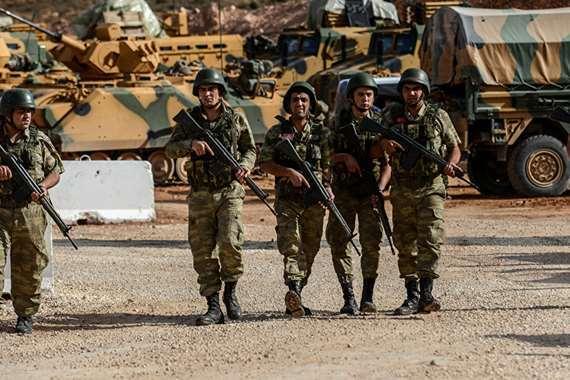 قوات تركيا