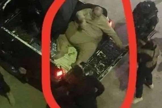 نقل مفتي داعش في سيارة نصف نقل لسمنته المفرطة