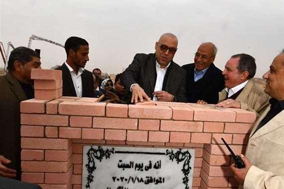 مصر تضع حجر أساس أكبر مدينة طبية في الشرق الأوسط