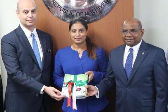 سفير مصر لدي المالديف