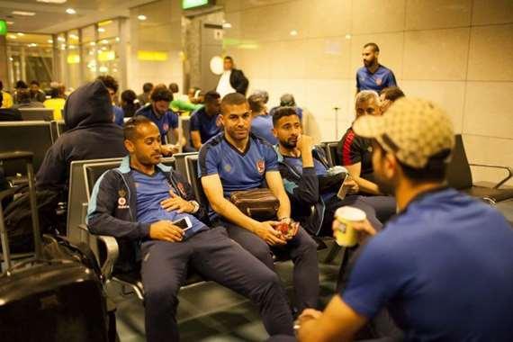 الأهلي في المطار