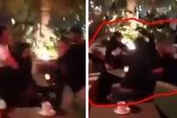 معركة جماعية بين شباب وفتيات في البحرين
