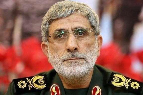 إسماعيل قا آني قائد فيلق القدس الجديد