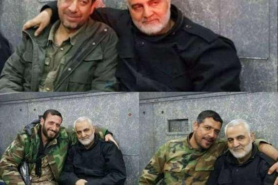 صورة نادرة تجمع قتلى قيادات فيلق القدس مع سليماني