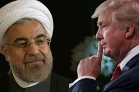 الرئيس الامريكي و الرئيس الايراني