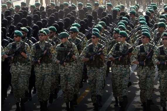 قوات مسلحة إيران