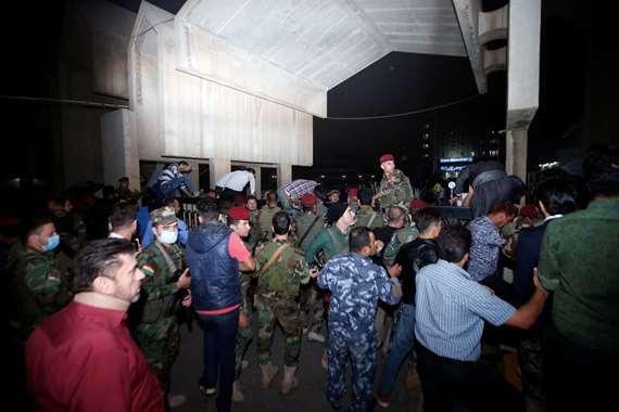 مواجهات مع الأمن في كردستان