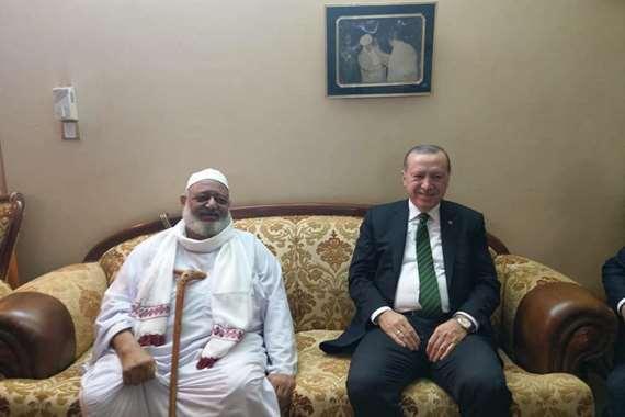 اردوغان يزور سودانياً