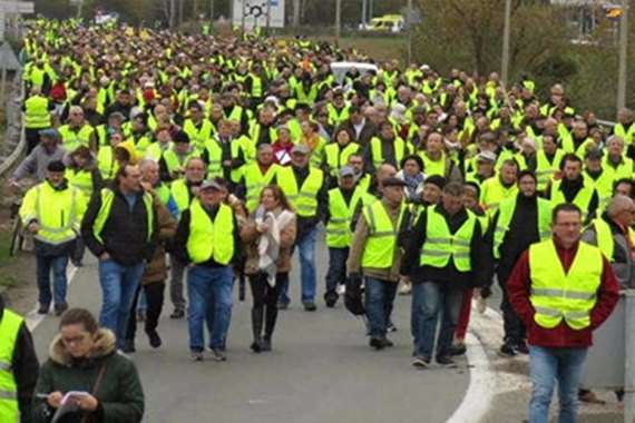 تظاهرات فرنسا