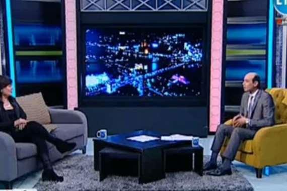 الإعلامي محمد موسى و الفنانة عايدة رياض