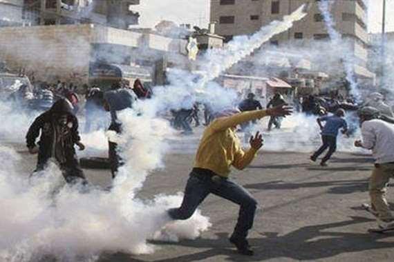 إصابة عشرات الفلسطينيين برصاص الاحتلال