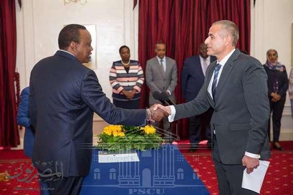 السفير المصري في كينيا