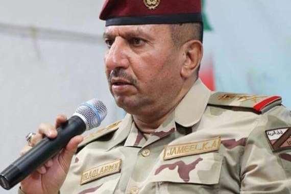 القائد العسكري الفريق جميل الشمري