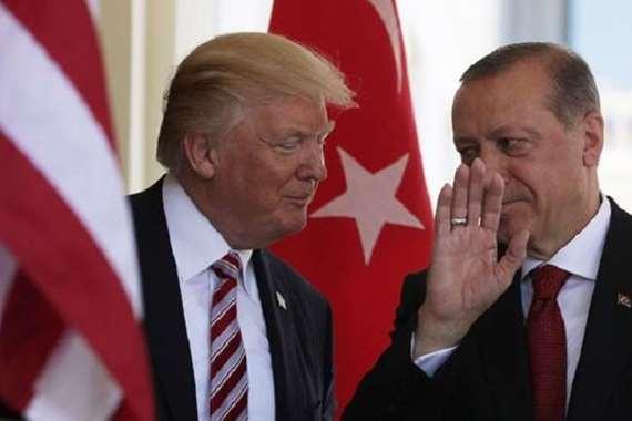 الرئيس الامريكي والرئيس التركي