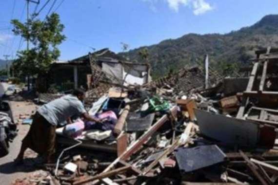 زلزال عنيف  يضرب الفلين