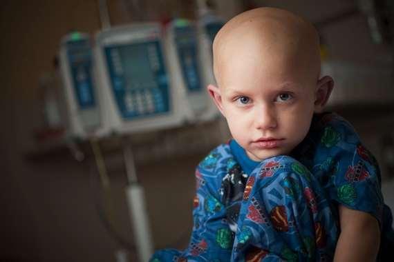 طفل السرطان