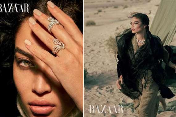 شانينا شايك عارضة أزياء سعودية
