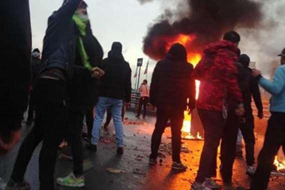 انفجار اسطوانات غاز  في إيران