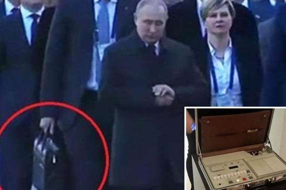 الرئيس الروسي والحقيبة النووية