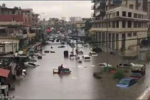 أمطار لبنان