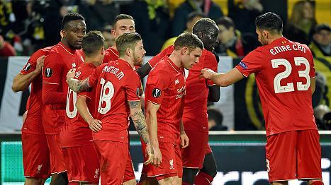 ليفربول يقتنص تعادلاً ثميناً من معقل بوروسيا دورتموند