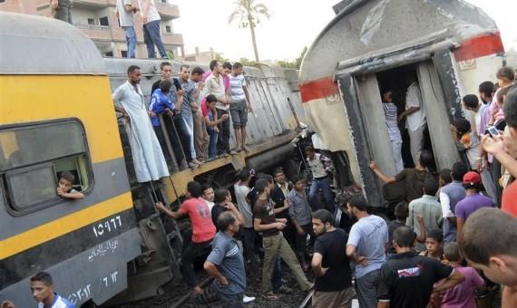 مصرع شخص تحت عجلات القطار بالبحيرة