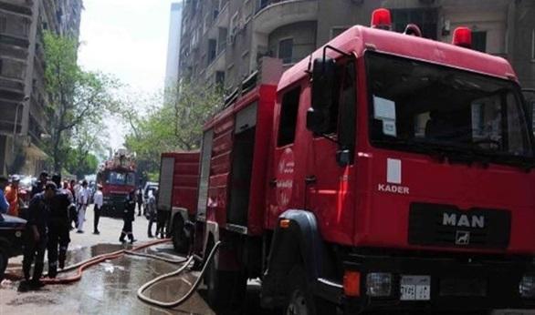 انتداب المعمل الجنائي لمعاينة حريق شقة غرب الإسكندرية